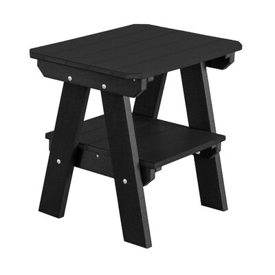 Heritage 2 Tier End Table Finish: Black