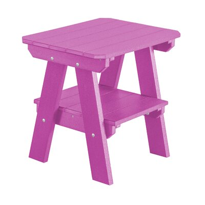 Heritage 2 Tier End Table Finish: Purple