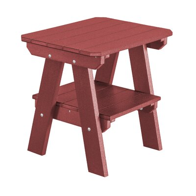 Heritage 2 Tier End Table Finish: Cherry Wood