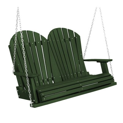 Heritage Heritage Porch Swing Color: Turf Green