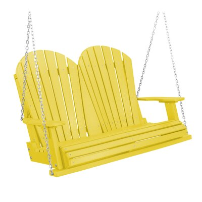 Heritage Heritage Porch Swing Color: Lemon Yellow