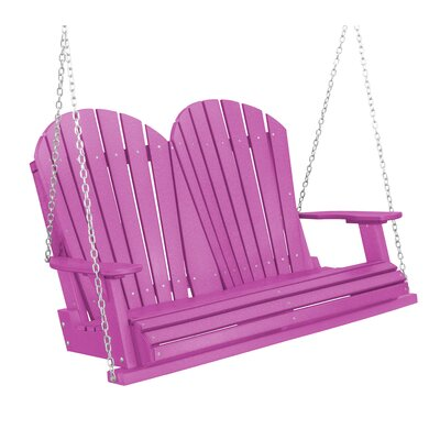 Heritage Heritage Porch Swing Color: Purple
