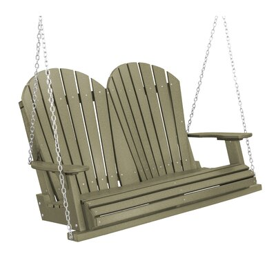 Heritage Heritage Porch Swing Color: Olive