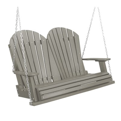 Heritage Heritage Porch Swing Color: Light Gray