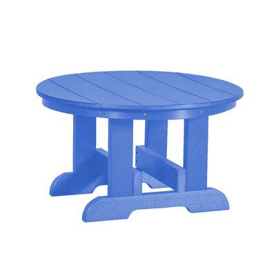 Heritage Conversation Table Finish: Blue