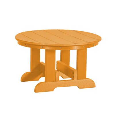 Heritage Conversation Table Finish: Bright Orange