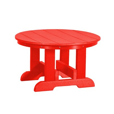 Heritage Conversation Table Finish: Bright Red