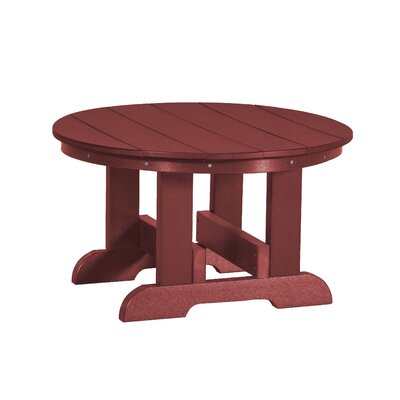 Heritage Conversation Table Finish: Cherry Wood