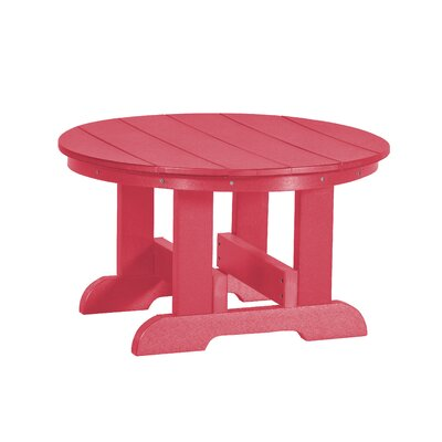 Heritage Conversation Table Finish: Pink