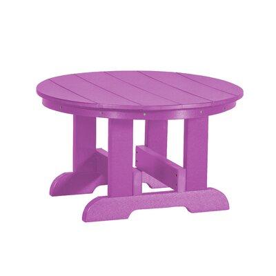 Heritage Conversation Table Finish: Purple