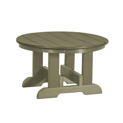 Heritage Conversation Table Finish: Olive