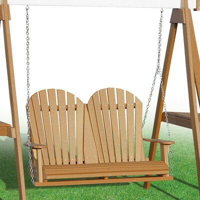 Heritage Heritage Porch Swing Color: Cedar
