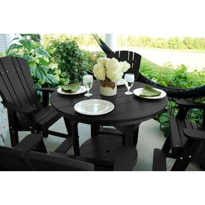 5 Piece Dining Table Set Color: White