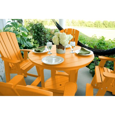 Heritage 5 Piece Dining Set Finish: Orange