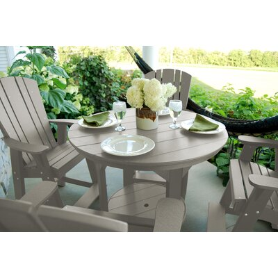 Heritage 5 Piece Dining Set Finish: Light Gray