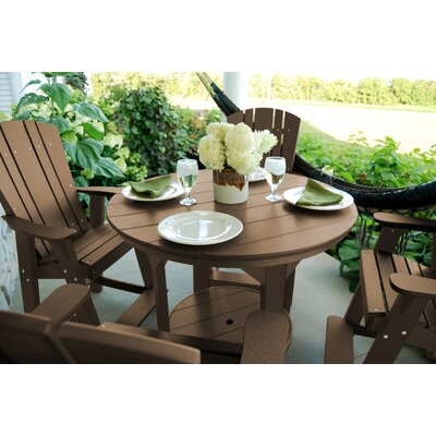 Heritage 5 Piece Dining Set Finish: Tudor Brown