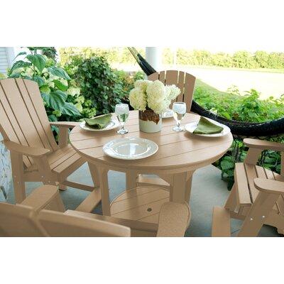 Heritage 5 Piece Dining Set Finish: Weathered Wood