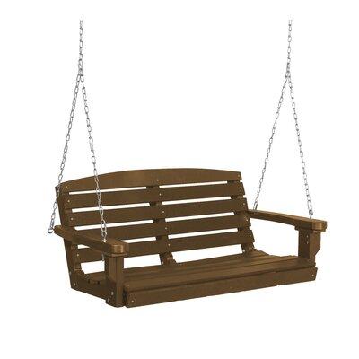 Classic Porch Swing Finish: Tudor Brown