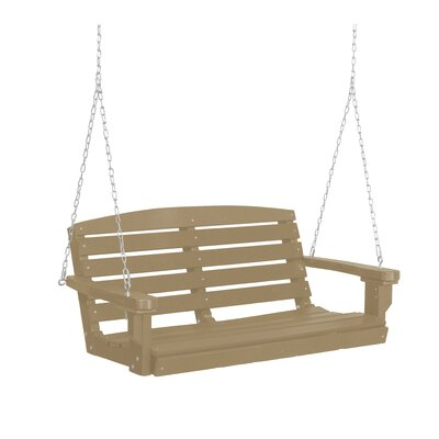 Classic Porch Swing Finish: Weathered Wood