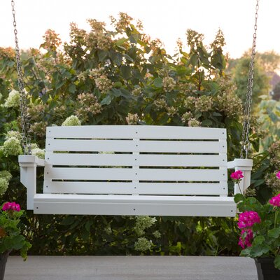 Classic Porch Swing Finish: White