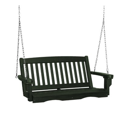 Classic Mission Porch Swing Finish: Turf Green