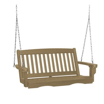 Classic Mission Porch Swing Finish: Weathered Wood