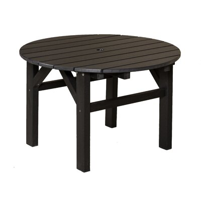 Classic Chat Table Finish: Black