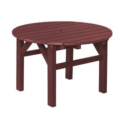 Classic Chat Table Finish: Cherry Wood