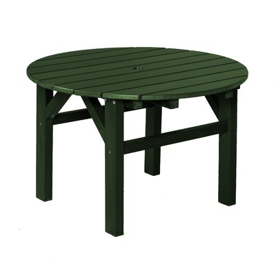 Classic Chat Table Finish: Turf Green