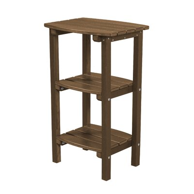 Classic Side Table Finish: Tudor Brown