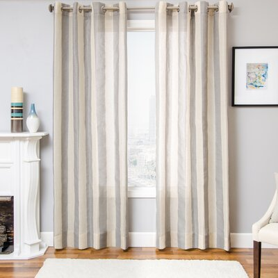 Hamilton Striped Single Curtain Panel