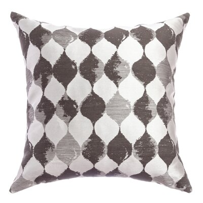 Palatial Teardrop Decorative Throw Pillow Color: Designer Grey