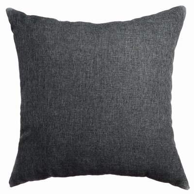 Mural Throw Pillow Color: Charcoal Grey