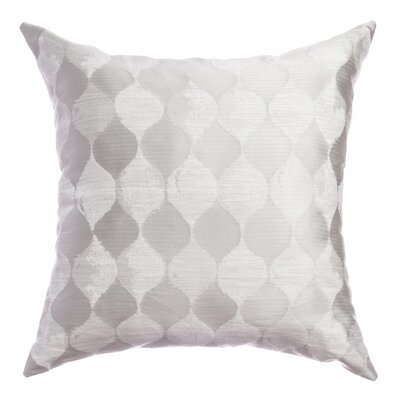 Palatial Teardrop Decorative Throw Pillow Color: White