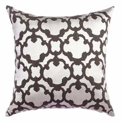 Rockdale Tile Throw Pillow Color: Designer Grey