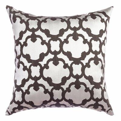 Palatial Tile Throw Pillow Color: Designer Grey