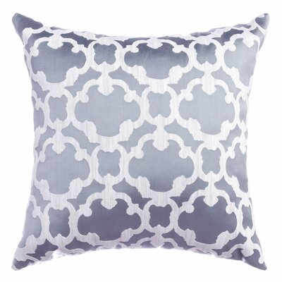 Palatial Tile Throw Pillow Color: Ocean