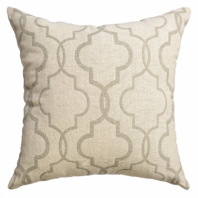 Asheville Tile Square Throw Pillow Color: Sage