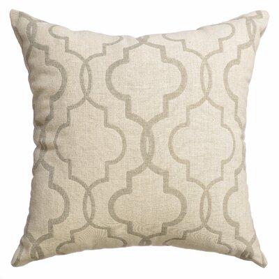 Asheville Tile Square Throw Pillow Color: Sage