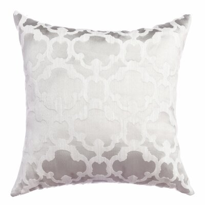 Palatial Tile Throw Pillow Color: White