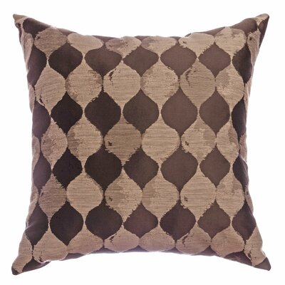 Palatial Teardrop Decorative Throw Pillow Color: Designer Brown