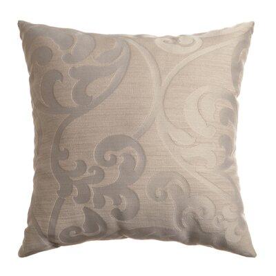 Karaj Throw Pillow Color: Stone