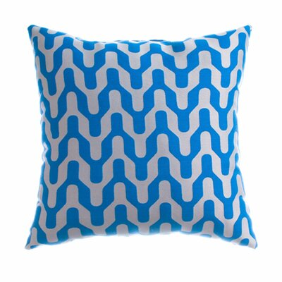 Victor Throw Pillow Color: Cobalt