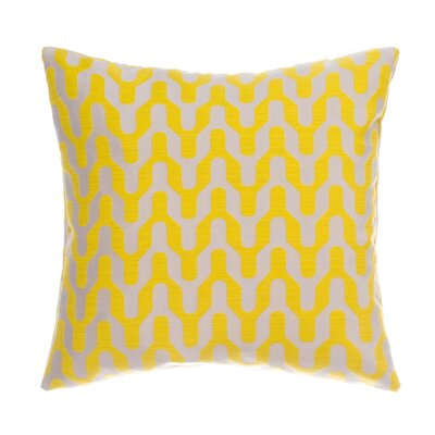 Victor Throw Pillow Color: Yellow