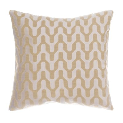 Victor Throw Pillow Color: Beige