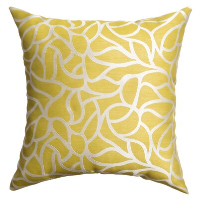 Basra Throw Pillow Color: Citrus
