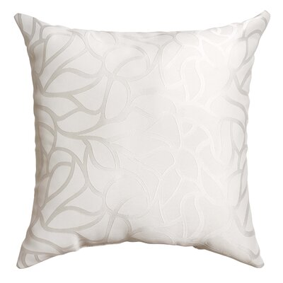 Basra Throw Pillow Color: White