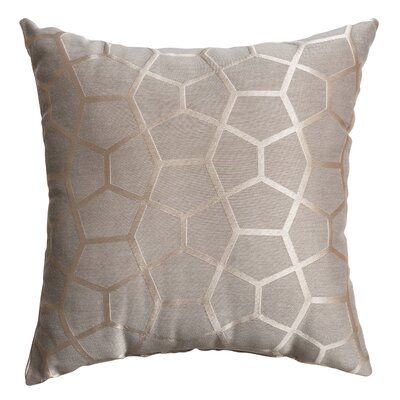 Dimas Throw Pillow Color: Gray