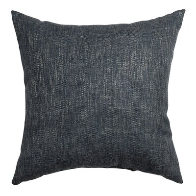 San Jacinto Throw Pillow Color: Blue Steel