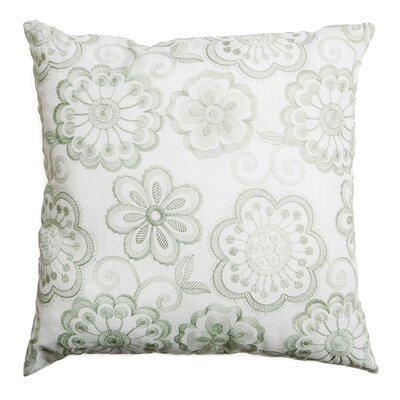 Estero Throw Pillow Color: Celadon